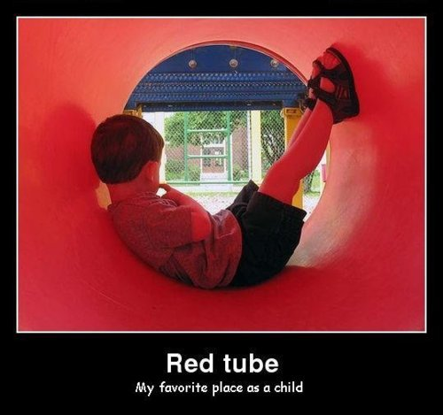 Red tube gya